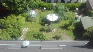 Garten Schussenstrasse 1 Dachansicht